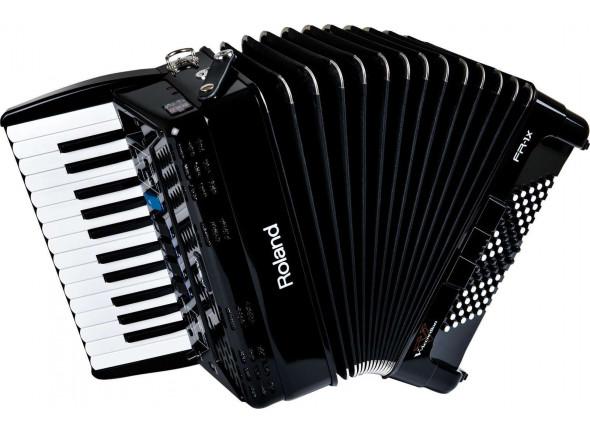 Acordeão Electrónico de Teclas/Acordeão Roland FR-1X BK Acordeão Teclas Preto B-Stock