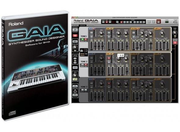 Software para sintetizador/Acessórios para Sintetizadores Roland  GAIA Sound Designer SD-SH01 Software Editor