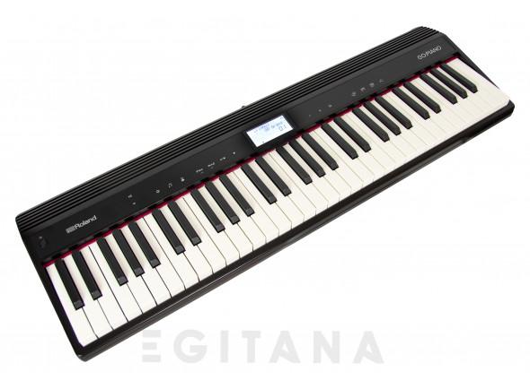 B-stock Piano portátil /Pianos Digitais Portáteis  Roland GO:PIANO 61 Piano Portátil Bluetooth B-Stock