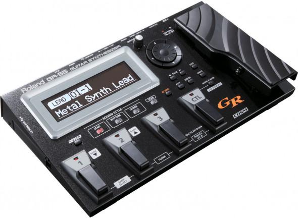 Sintetizador para guitarra e baixo/Sintetizadores para guitarras e baixos Roland GR-55GK BK Black
