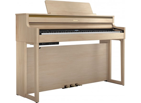 Piano Digital com Móvel/Pianos Digitais de Móvel Roland HP704 LA Light Oak