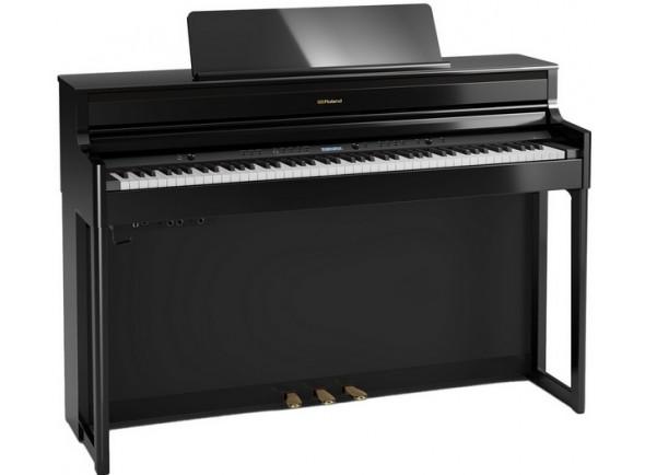 Pianos Roland com móvel em stock Piano Digital com Móvel/Pianos Digitais de Móvel Roland HP704 PE Preto Polido