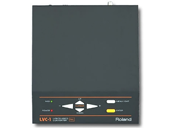 Interfaces MIDI Roland LVC1 Lyrics Video Converter B-Stock