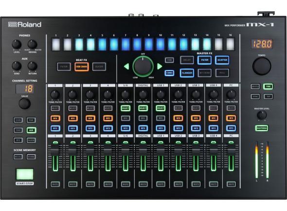 B-stock Mesa de mistura digital/Sintetizadores Roland MX-1 Mixer Digital B-Stock
