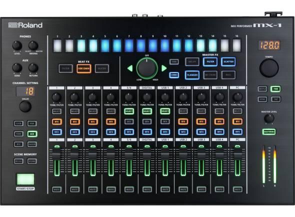 Mesa de mistura digital/Sintetizadores Roland MX-1 Mix Performer