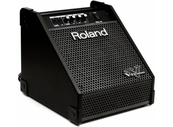 Monitores para bateria eletrónica Roland PM-10  Monitor para Bateria Edrum Roland PM10 Preto