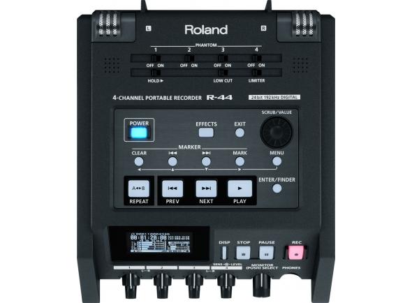 Gravadores Digitais Roland R-44E