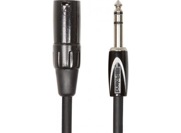 Cabo de microfone/Adaptadores e conversores Roland RCC-10-TRXM XLR Jack 3m