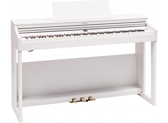 Piano Digital com Móvel/Pianos Digitais de Móvel Roland RP701 WH Satin White