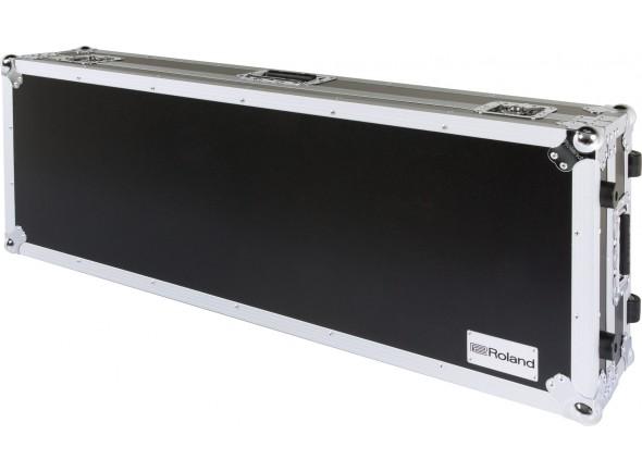 Estojos e Malas/Malas para Pianos Roland RRC-61W Flightcase com Rodas - 61 teclas