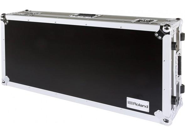 Malas de Transporte/Malas para Pianos Roland RRC-88W Flight Case com Rodas - 88 teclas