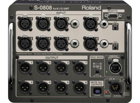 Mesas de mistura digitais Roland S-0808 Digital Snake