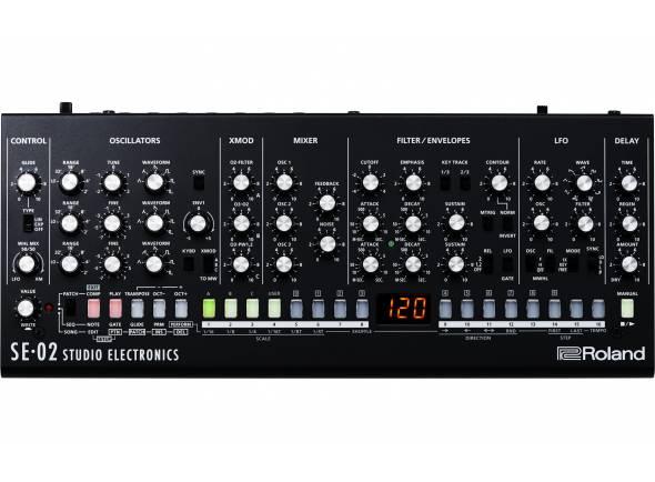 Sintetizador Anágico / Digital/Sintetizadores Roland SE-02 Sintetizador Analógico Studio Electronics BOUTIQUE