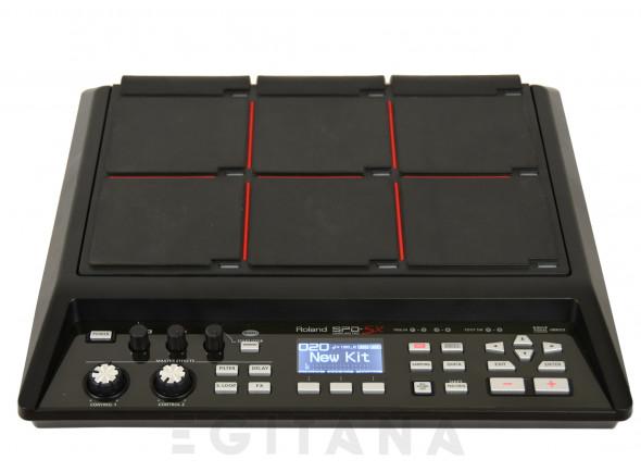 Pads de Sampling e Percussão Roland SPD-SX B-Stock