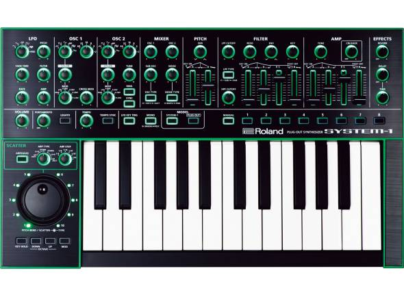 Sintetizadores Roland SYSTEM-1 PLUG-OUT Synthesizer