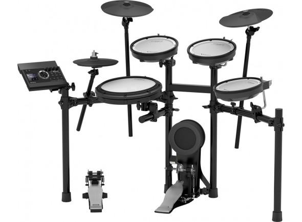 Bateria Eléctrica/Conjuntos de bateria eletrónica Roland TD-17KV E-Drum Double Mesh Head Kit