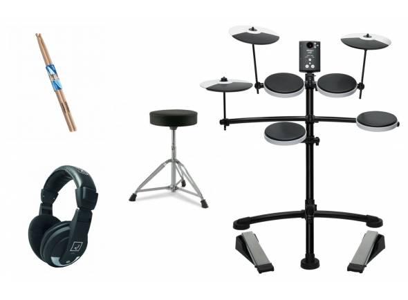 Ver mais informações do Bateria Eletrónica Roland TD-1K V-Drum Set Bundle