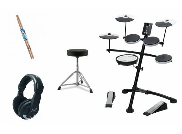 Ver mais informações do Bateria Eletrónica Roland TD-1KV V-Drum Set Bundle