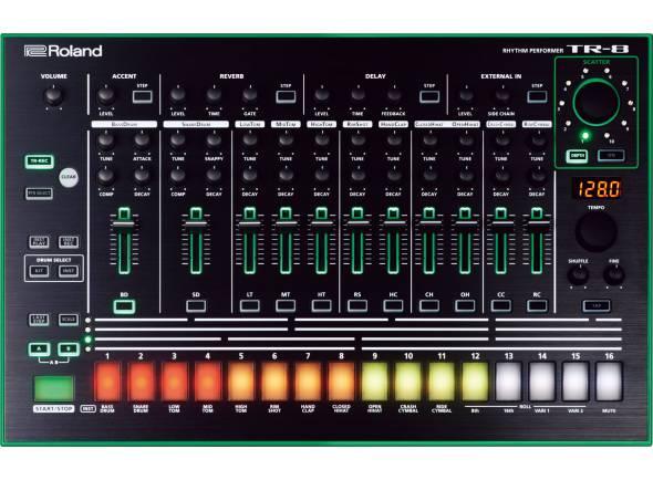 Sintetizadores e Samplers Roland TR-8