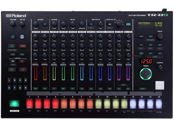 Caixa de Ritmos/Sequenciadores de ritmos Roland TR-8S Caixa de Ritmos B-Stock