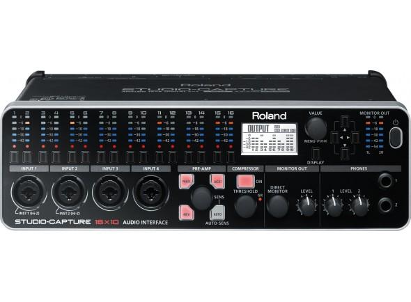 Interface Áudio USB Roland UA-1610 STUDIO-CAPTURE