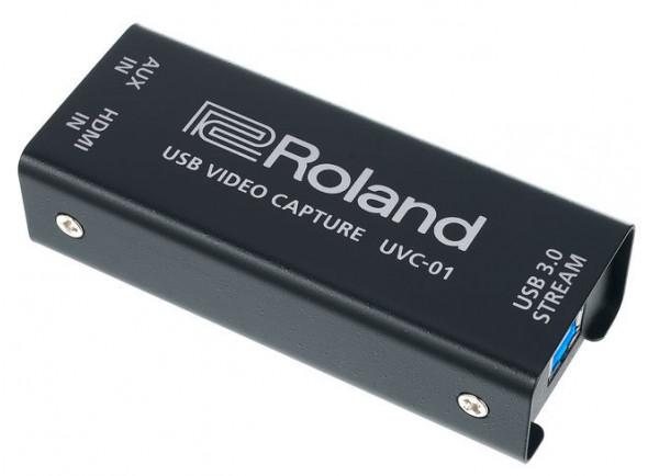 Roland Video Mesa de mistura para edição/live video/Conversor/Distribuidor de vídeo Roland UVC-01 Conversor Video HDMI para USB 3.0 STREAM