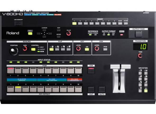 Projecção de vídeo Roland V-800HD