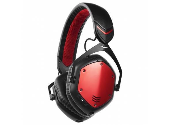 Auscultadores V-MODA Crossfade Wireless Rouge