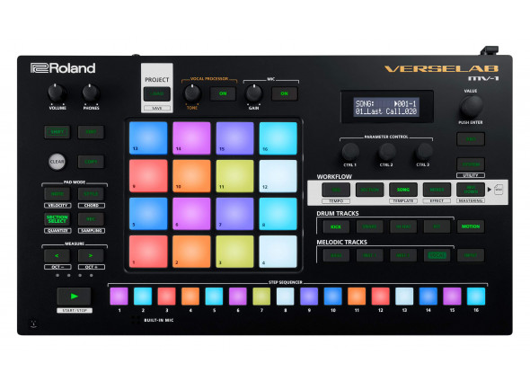 Sequenciadores/Sequenciadores de ritmos Roland VERSELAB MV-1