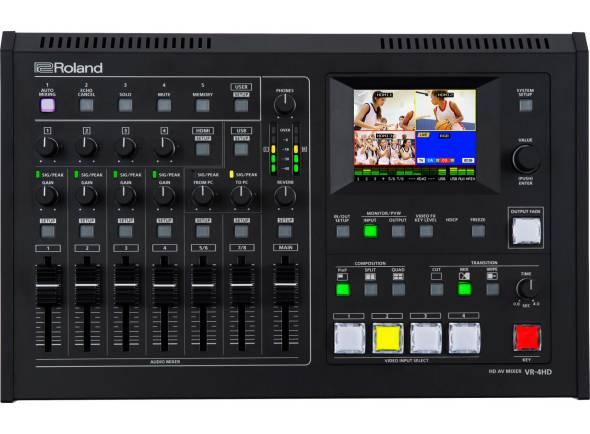 Mesa de Edição de Vídeo Roland VR-4HD