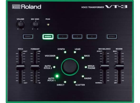 Ver mais informações do  Roland VT-3