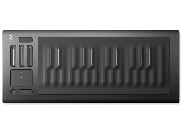 Controlador Midi USB com 25 teclas/Teclados MIDI Controladores Roli SEABOARD RISE 25