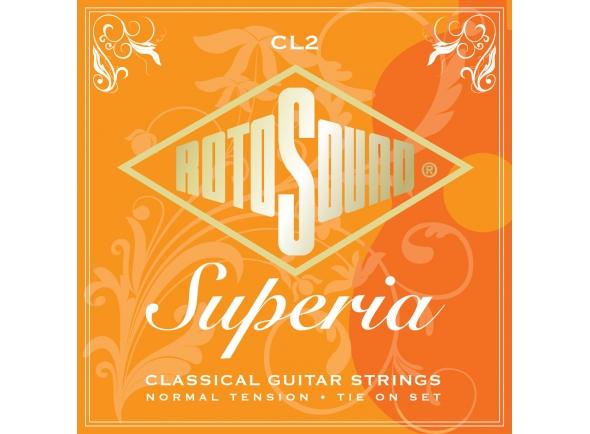 Jogos de cordas para guitarra clássica Rotosound CL2