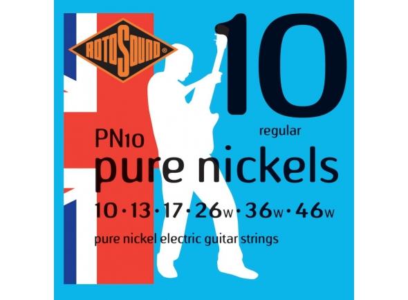 Jogo de cordas .010 Rotosound PN10