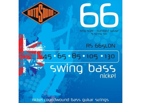 Jogos de cordas para baixo elétrico Rotosound RS665LDN