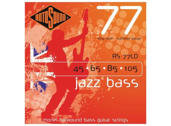 Jogos de cordas para baixo elétrico Rotosound RS77LD Jazz Bass