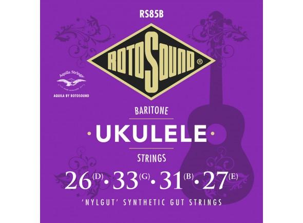 Jogos de cordas para ukulele Rotosound RS85S Nylgut Soprano Ukulele Strings
