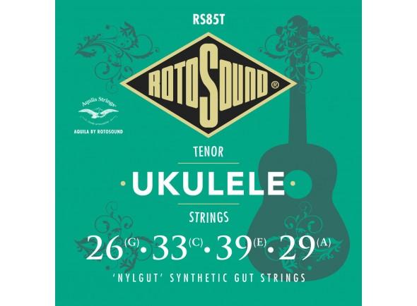 Jogos de cordas para ukulele Rotosound RS85T Nylgut Tenor Ukulele Strings