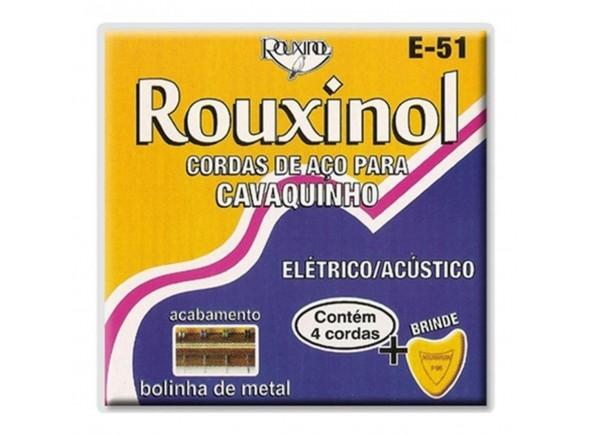 Cordas para Cavaquinho Brasileiro/Conjuntos de cordas para cavaquinho Rouxinol E51