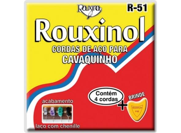 Conjuntos de cordas para cavaquinho Rouxinol R-51 (CAVAQUINHO BRASILEIRO)