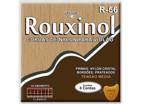 Jogos de cordas para guitarra clássica Rouxinol R-56