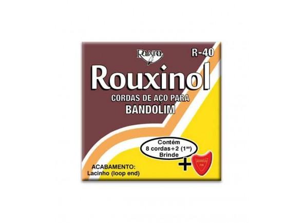 Cordas para Bamdolim /Jogos de cordas para bandolim Rouxinol R40