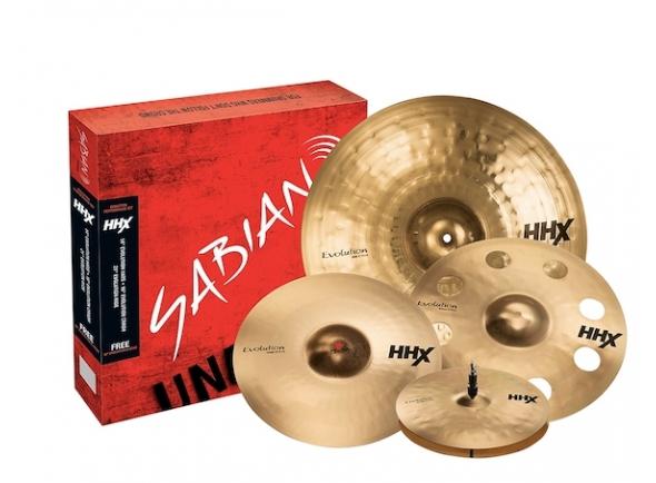 Conjunto de pratos/Conjunto de Pratos Sabian HHX Special Evolution Cym. Set