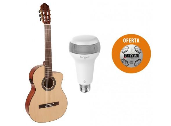Guitarras clássicas eletrificadas Salvador CS-244-CE Pack