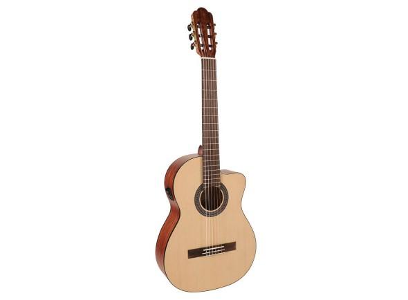 Guitarras clássicas eletrificadas Salvador CS-244-CE