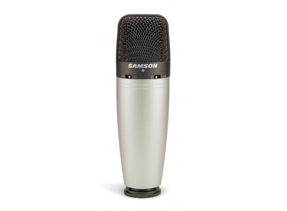 Microfone de membrana grande Samson C03