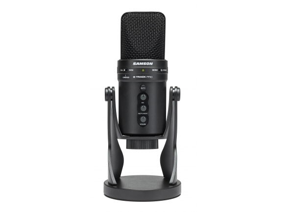 Microfone USB Samson G-Track Pro