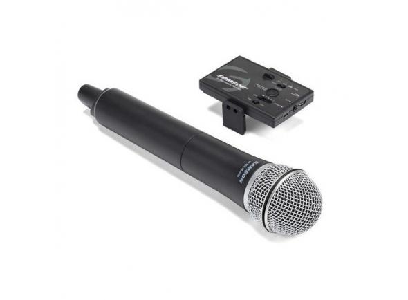 Sistema sem fios com microfone de mão Samson Go Mic Mobile Microfone de Mão