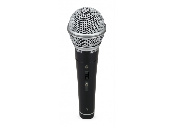 Microfone Vocal Dinâmico Samson R21S
