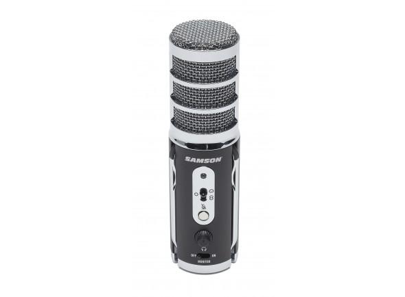 Microfone de mesa USB/Microfone USB Samson Satellite USB Microphone